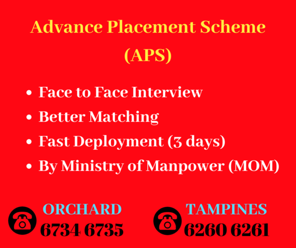Advance Placement Scheme (APS) by MOMAdd heading copy
