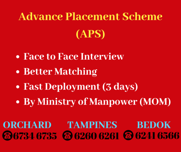 Advance Placement Scheme (APS) by MOMAdd heading
